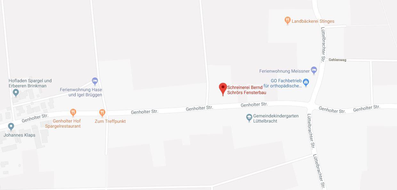 Routenplaner bei Google Maps aufrufen